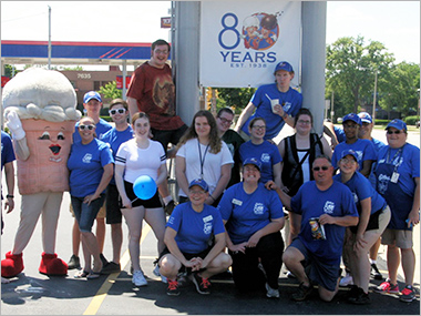 Gilles Frozen Custard team celebrates 80 Years!